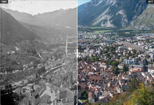 Chur vor 130 Jahren