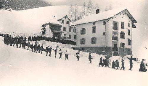 Lavinas 1931 a Platta