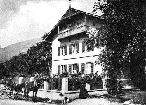 Domat/Ems, Vignola um 1900