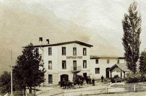 Gasthaus zur Post a Ramosch