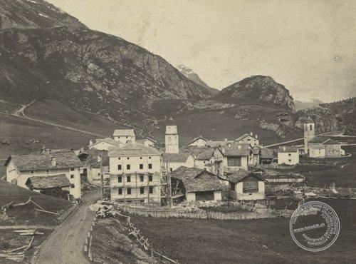 Das älteste Bild von Bivio?